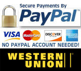 Secure Payments by PayPal. Buy with Confidence.