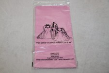 Plastic Wraps Long Baby Pink  6-12