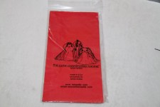 Plastic Wraps Long Red  6-12